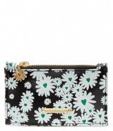 Fabienne Chapot Lucky Purse Printed Black/Bean green