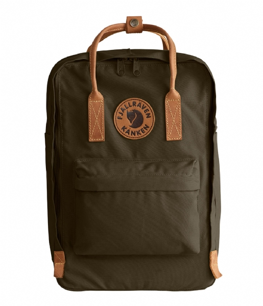 Fjallraven Laptop rugzak Kanken No. 2 Laptop 15 inch dark olive (633)
