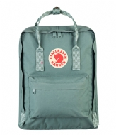 Fjallraven Kanken frost green chess patern (664-904)