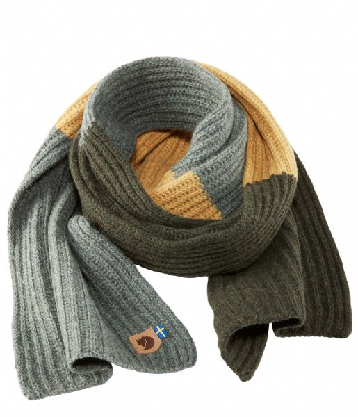 Fjallraven Sjaal Re-Wool Scarf thunder grey (026)
