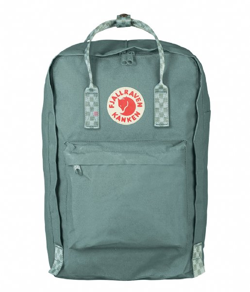 Fjallraven Laptop rugzak Kanken 17 inch Laptop frost green (664-904)