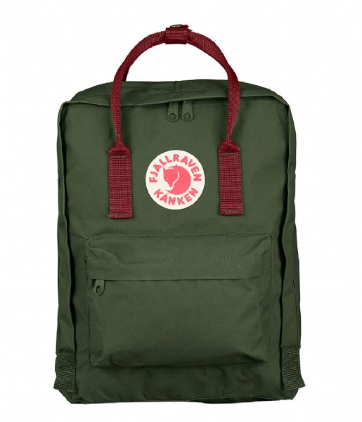 Fjallraven Dagrugzak Kanken forest green-ox red (660-326)