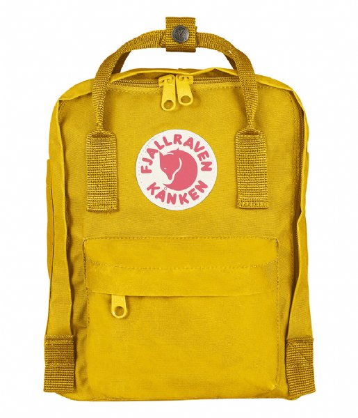 Fjallraven Dagrugzak Kanken Mini warm yellow (141)
