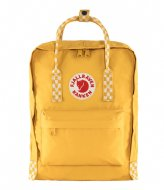 Fjallraven Kanken ochre­ chess pattern (160­-904)