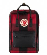 Fjallraven Kanken Re-Wool Laptop 15 Inch red black (320­-550)