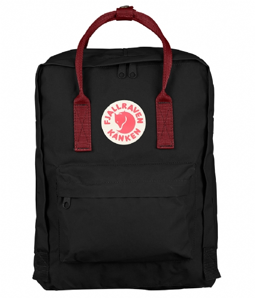 Fjallraven Dagrugzak Kanken black ox red (550-326)