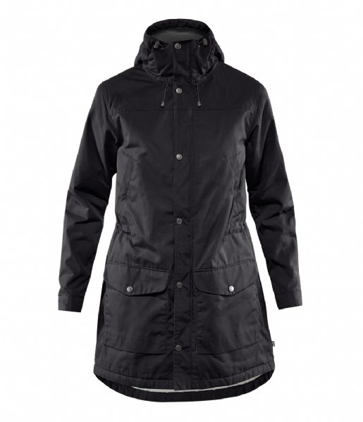 Fjallraven Winterjas Greenland Winter Parka W black (550)