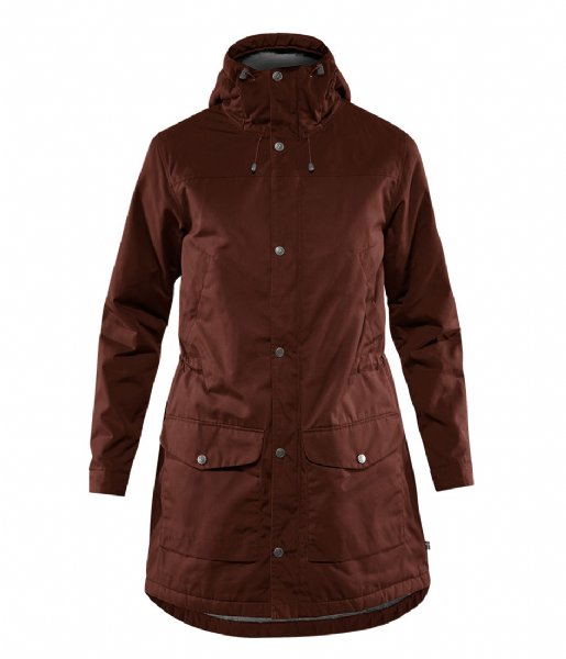 Fjallraven Winterjas Greenland Winter Parka W maroon (352)