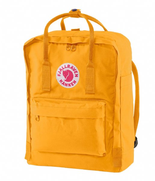 Fjallraven Dagrugzak Kanken warm yellow (141)