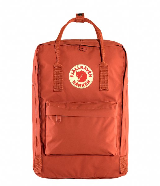 Fjallraven Laptop rugzak Kanken 17 inch Laptop rowan red (333)