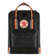 Fjallraven Kanken Rainbow Mini black rainbow pattern (550-907)