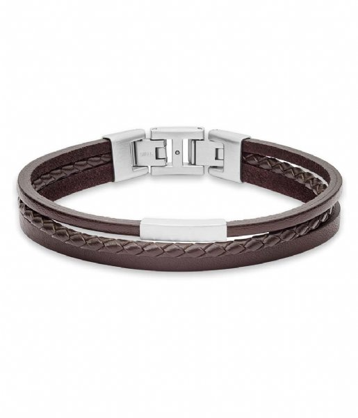 Fossil Armband Vintage Casual JF03323040 Brown