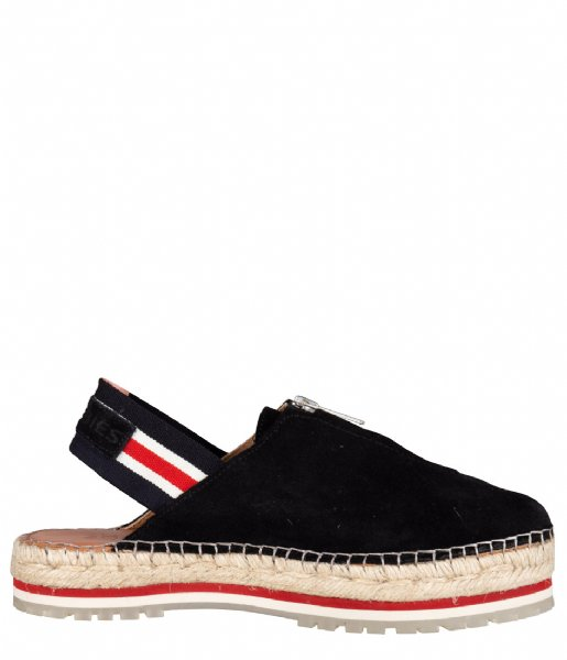 Shabbies Espadrilles Espadrille Sandal Zipper black