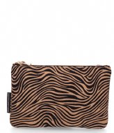 Fred de la Bretoniere Envelope Bag Zebra X YARA black beige