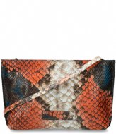 Shabbies Crossbody S Multicolor Snake Printed Leather multi blue