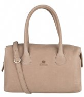 Fred de la Bretoniere 213010026 Handbag L Heavy Grain Leather Light Brown
