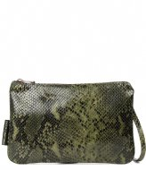 Fred de la Bretoniere Crossbody Envelope Bag dark olive