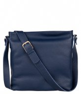 Fred de la Bretoniere Crossbody Medium Grain dark blue