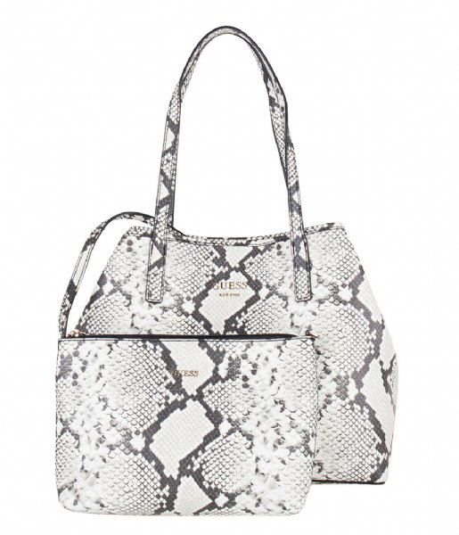Vikky Tote python Guess | The Little Green Bag