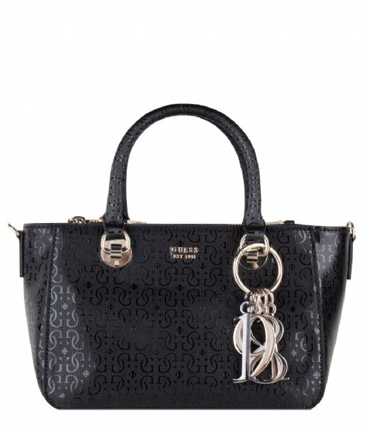 Tamra Small Society Satchel black Guess | The Little Green Bag