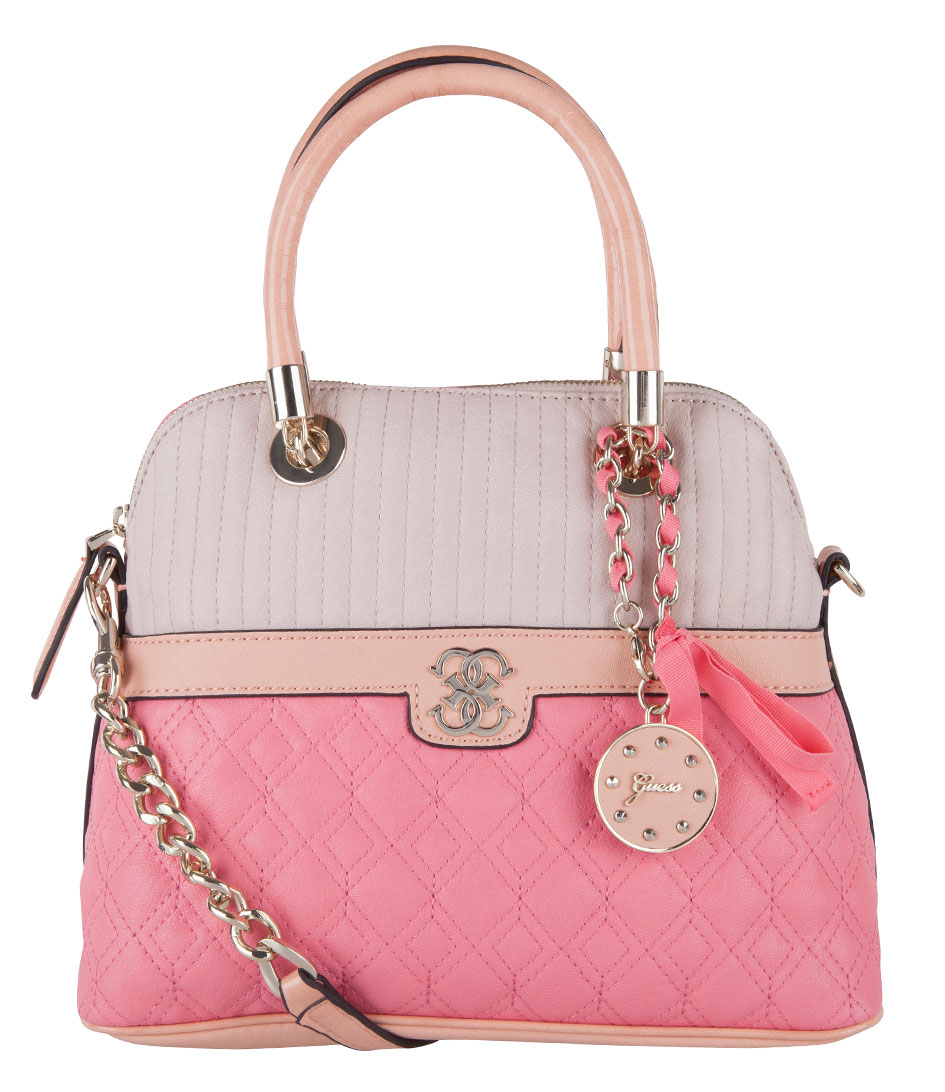 Merci Small Dome Satchel Bag watemelon multi Guess | The