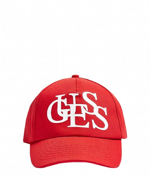 Guess Hoed - cap Bobbi Baseball red