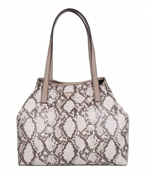 Vikky Tote python multi Guess | The Little Green Bag