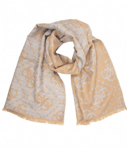 Guess Sjaal Scarf camel
