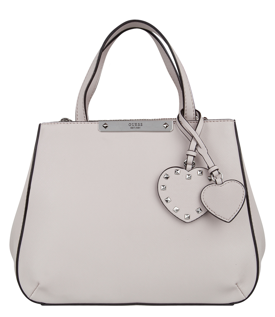 Britta Small Society Satchel nude Guess | The Little Green Bag