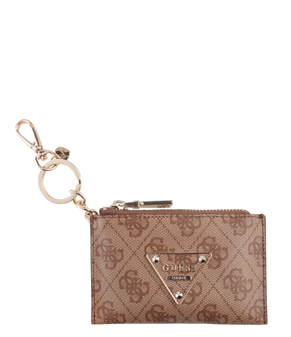 Cooper Pouch Keychain brown Guess | The Little Green Bag