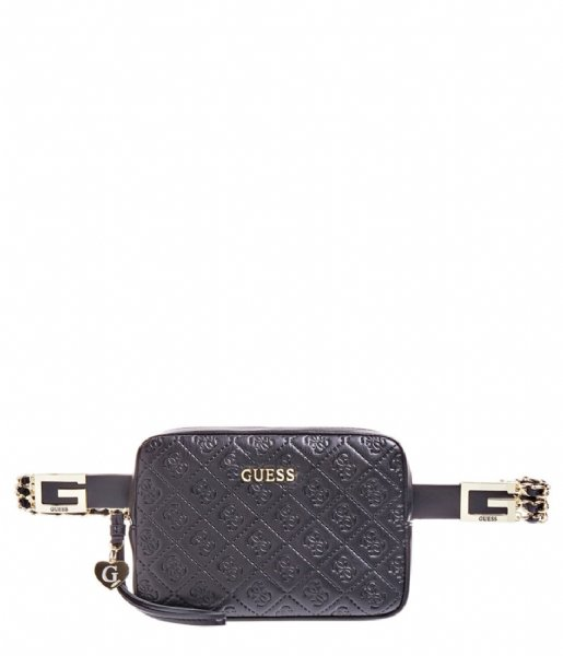 Guess Riem Belt with Pouch black