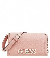 Guess Uptown Chic Mini Xbody Flap Rosewood