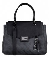 Guess Valy Small Girlfriend Satchel Coal