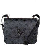 Guess Noelle Mini Crossbody Flap Coal