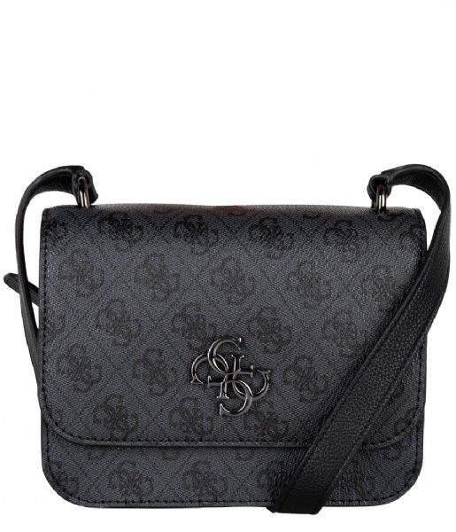Guess Crossbodytas Noelle Mini Crossbody Flap Coal