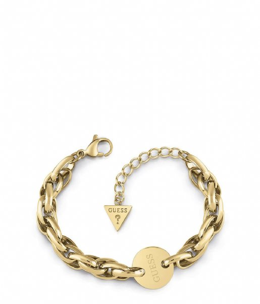 Guess Armband Armbanden Chain Reaction UBB29032-S Goudkleurig
