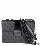 Guess Logo City Convertible Flap coal