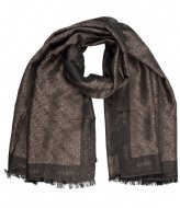 Guess Logo City Scarf brown