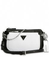 Guess Arie Double Pouch Crossbody Black Multi