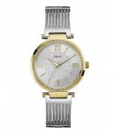 Guess Watch Soho W0638L7 Zilverkleurig