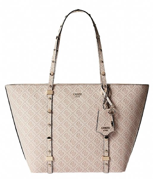 Coast to Coast Tote stone Guess | The Little Green Bag