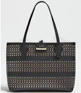 Guess Bobbi Inside Out Tote black stone