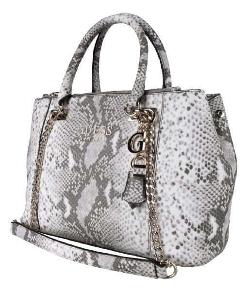 Holly Status Carryall python Guess | The Little Green Bag