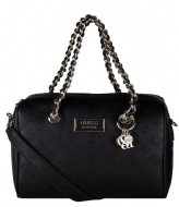 Guess Logo Love Box Satchel black