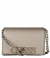 Guess Uptown Chic Mini Xbody Flap gold