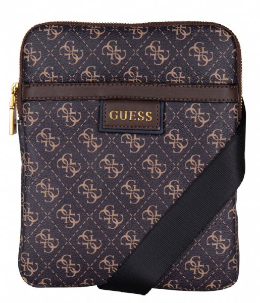 Guess Crossbodytas Vezzola Crossbody Flat Dark brown