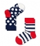 Kids Socks 2-Pack Stripes