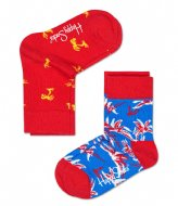 Happy Socks Kids 2-Pack Palm Beach Socks palm beach (4000)