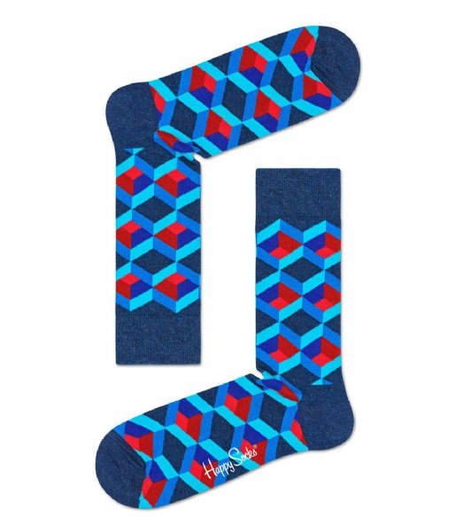 Happy Socks Sokken Optic Square Socks optic squre (6300)