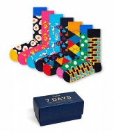 Happy Socks 7-Day Gift Box 7-day gift box (0101)